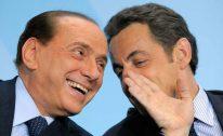 Nicolas Sarkozy och Silvio Berlusconi
